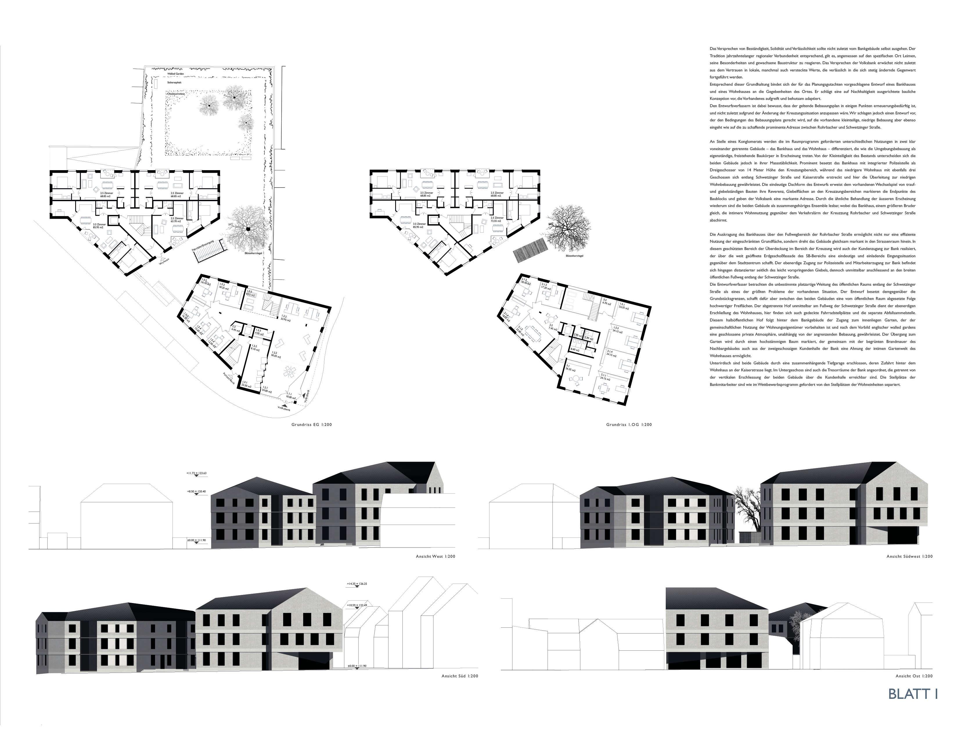 architektur und design wettbewerb voba. Black Bedroom Furniture Sets. Home Design Ideas